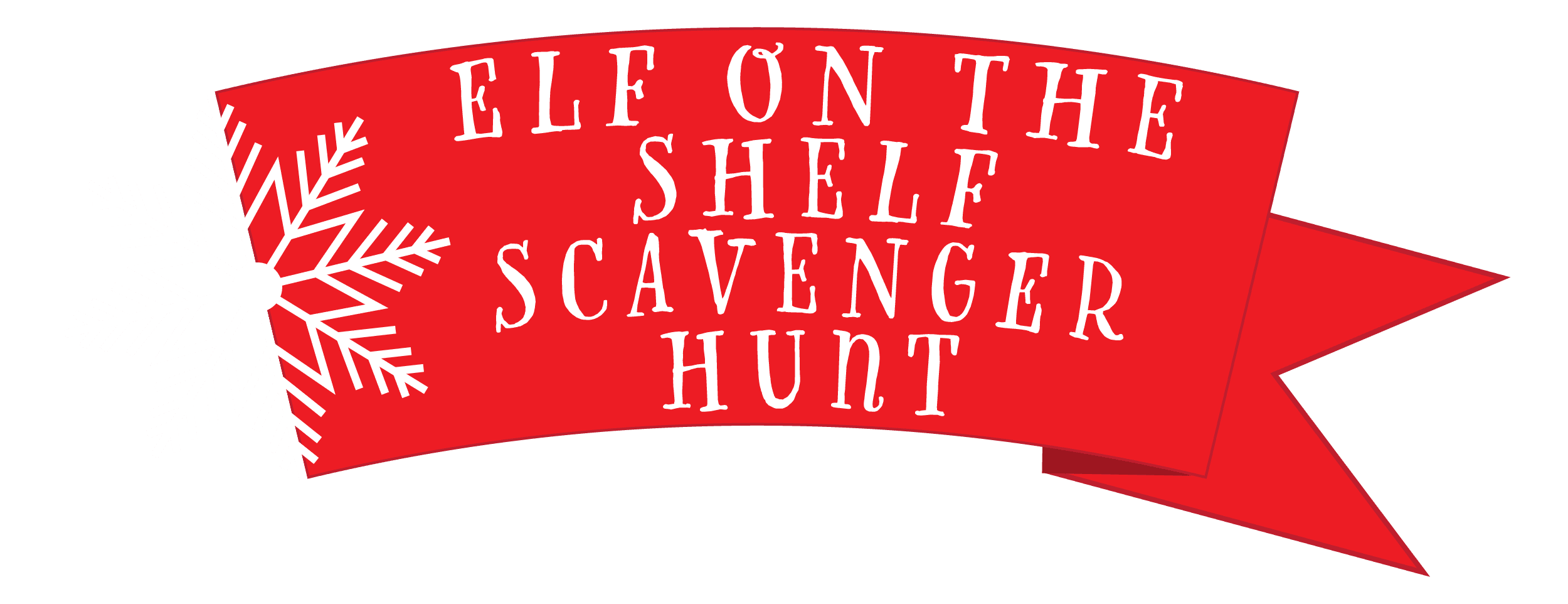 Elf on the Shelf Scavenger Hunt Logo